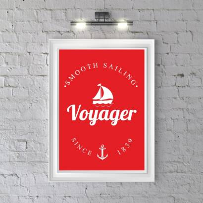 Plakat Voyager A