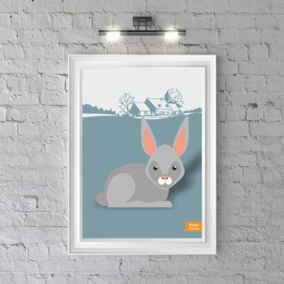Plakat Home Animals Rabbit