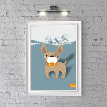 Plakat Home Animals Dog