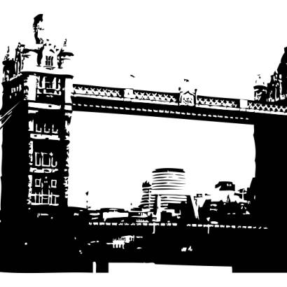 Naklejka London Bridge